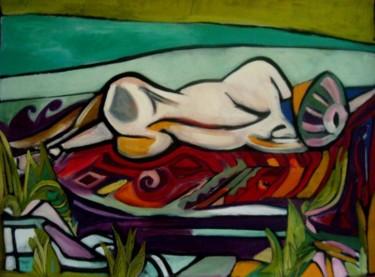 femme allongée au bord de la mer