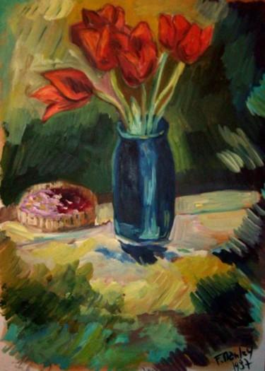 le bouquet de tulipes 1987