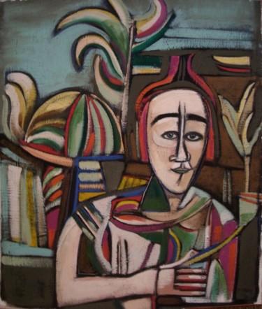 """""""femme au jardin""""2011"""